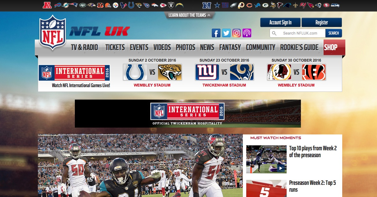 bd0daa72326 How the NFL aims for globalisation of American Football