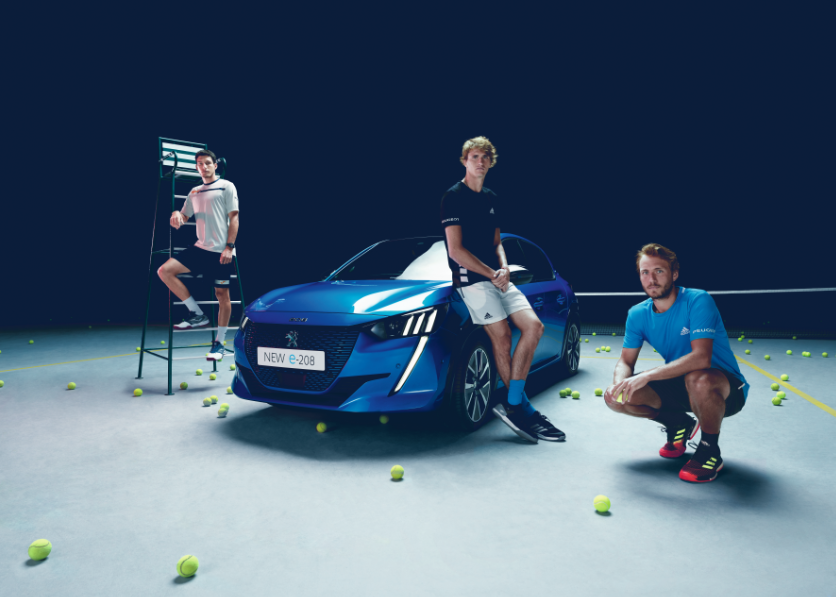 Peugeot S Campaigns To Activate Tennis Sponsorships Drive To Tennis And Nextgen Lions