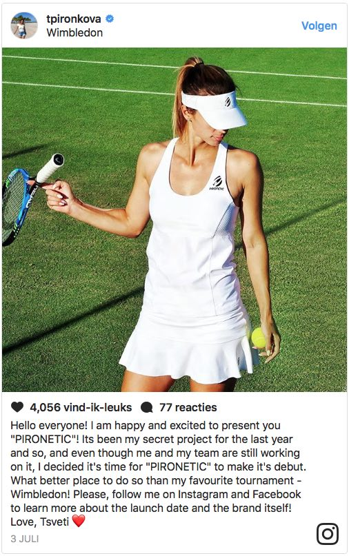 Tennis Players With An Own Clothing Line