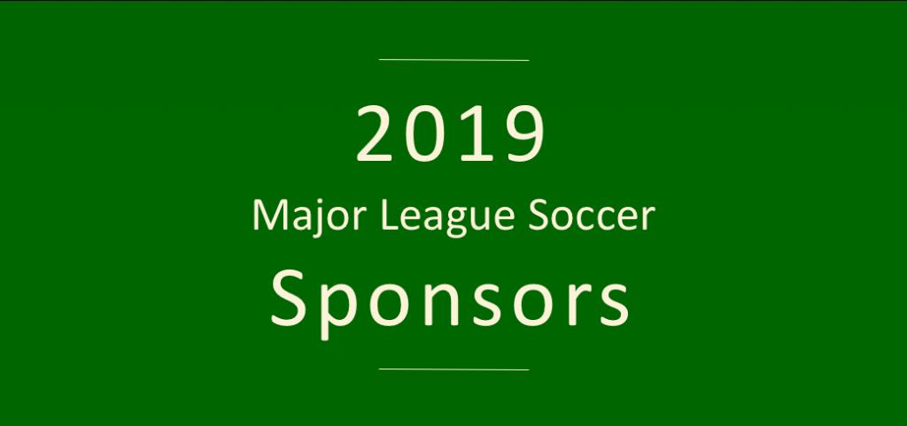 2019 MLS kit and shirt sponsors