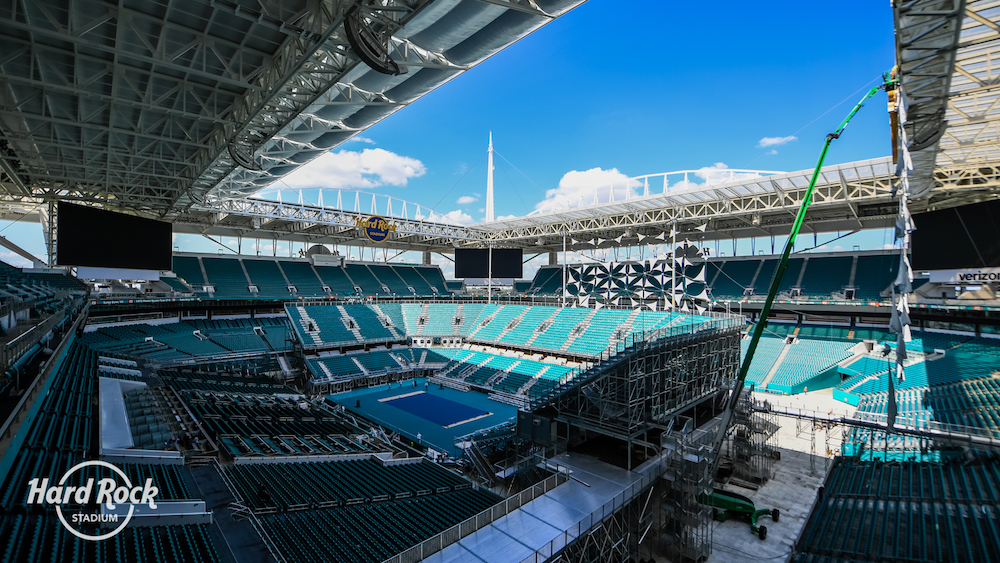 changing venues: the miami open's move to hard rock stadium