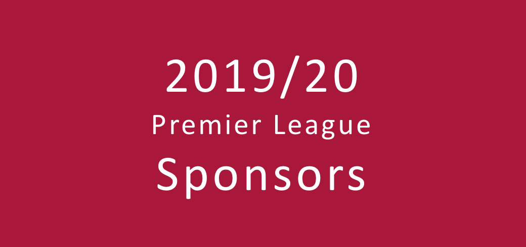 39e2415f Overview of the 2019/2020 Premier League sponsors